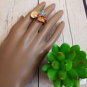 Betsey Johnson Jewelry - Betsey Johnson Under the Sea Crab Ring 8